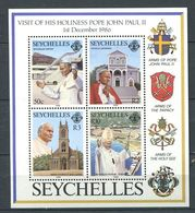 234 SEYCHELLES 1986 - Yvert BF 30 - Pape Armoirie Blason - Neuf ** (MNH) Sans Trace De Charniere - Seychelles (1976-...)