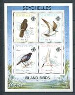 234 SEYCHELLES 1989 - Yvert BF 33 - Oiseau - Neuf ** (MNH) Sans Trace De Charniere - Seychelles (1976-...)