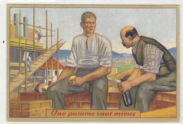 Une Pomme Vaut Mieux - Assoc. Antialcolique - 1936       (P-163-80717) - VD Vaud