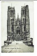 CPA - Carte Postale - Belgique - Bruxelles - Eglise Sainte Gudule -1909  S1269 - Monuments, édifices