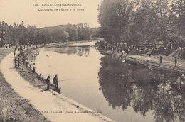 °°°°°  45 CHATILLON SUR LOIRE :  Concours De Pêche °°°°°  ////   REF.  JUILLET 18  /  BO. 45 - Chatillon Sur Loire