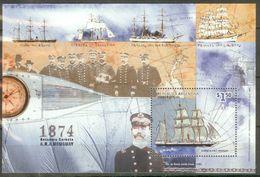 Argentina 1999 Mi#bl68 MNH Cv Eur4 Ships - Schiffe