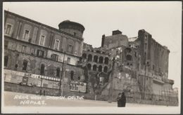 Rear View, Spanish Castle, Naples, Campania, C.1950 - Agfa RP Postcard - Napoli (Naples)