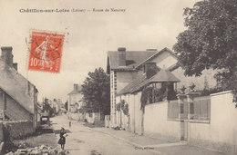 °°°°°  45 CHATILLON SUR LOIRE :   Route De Nancray   °°°°°  ////   REF.  JUILLET 18  /  BO. 45 - Chatillon Sur Loire