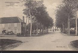 °°°°°  45 CHATILLON SUR LOIRE :   Avenue De La Gare  °°°°°  ////   REF.  JUILLET 18  /  BO. 45 - Chatillon Sur Loire