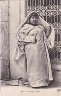 FEMME ARABE. FOLK OVERWEIGHT WOMAN. ND PHOT. CIRCA 1900's.- BLEUP - Bekende Personen