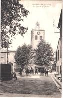 FR66 MAUREILLAS - Berdague - La Place Et Le Clocher - Pub PICON - Animée - Belle - Autres Communes