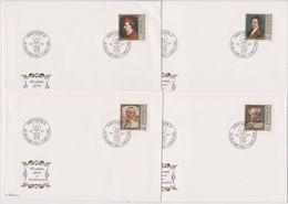 Lichtenstein FDC  1981   MiNr.784 - 787 Gemälde Berühmter Gäste In Lichtenstein ( D6141 ) Günstige Versandkosten - FDC