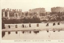 °°°°°  45 CHATILLON SUR LOIRE :   La  Loire    °°°°°  ////   REF.  JUILLET 18  /  BO. 45 - Chatillon Sur Loire