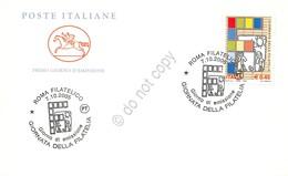 FDC Cavallino Italia Repubblica 2005 - Giornata Della Filatelia Annullo Tematico - Timbres