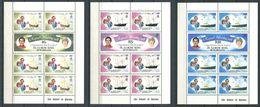 234 ZIL ELOIGNE SESEL Seychelles 1981 - Yvert 23/28 En Feuille - Mariage Royal Prince - Neuf ** (MNH) Sans Charniere - Seychelles (1976-...)