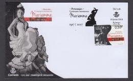 6.- SPAIN 2018 FDC Centenary Of The Birth Dancer Mariemma - FDC