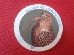 SPAIN ESPAGNE. ANTIGUO OLD CROMO ESTAMPA 54 CROMOJUEGO 1982 EAGLE AVES ÁGUILA CULEBRERA PENÍNSULA VER FOTO Y DESCRIPCIÓN - Cromos