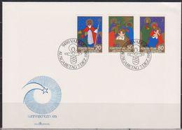 Lichtenstein FDC  1981   MiNr.788 - 790 Weihnachten ( D6144 ) Günstige Versandkosten - FDC