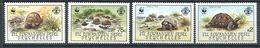234 ZIL ELWANNYEN SESEL Seychelles 1987 - Yvert 154/57 - WWF Tortue - Neuf ** (MNH) Sans Charniere - Seychelles (1976-...)