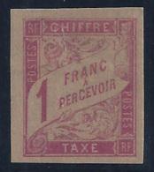 COLONIAS FRANCESAS 1893/1908 - Yvert #25 - MLH * - Portomarken