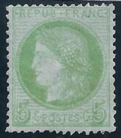 FRANCIA 1872 - Yvert #53 - MNH ** - 1871-1875 Ceres