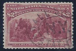ESTADOS UNIDOS 1893 - Yvert #93 - VFU - 1847-99 Emisiones Generales