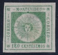URUGUAY 1860/60 - Yvert #17 - MLH * - Uruguay