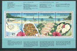 234 ZIL ELWANNYEN SESEL Seychelles 1989 - Yvert BF 7 - Gastronomie Cuisine Creole - Neuf ** (MNH) Sans Charniere - Seychelles (1976-...)