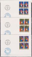Lichtenstein FDC  1981   MiNr.788 - 790 4er Blocks Weihnachten ( D 6145 ) Günstige Versandkosten - FDC