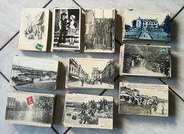 BEAU LOT De 910 CPA/CPSM DE FRANCE VILLES ET VILLAGES + ETRANGERES - PETITES CARTES EN BON ETAT - POIDS ENVIRON 3 Kg - 500 Postcards Min.