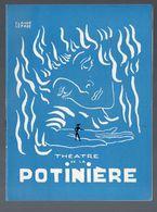Paris : Programme THEATRE DE LA POTINIERE : Deshabillez Vous Madame 1959 (PPP9017) - Programs