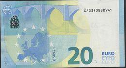 "€ 20  ITALIA  SA S014  ""32""  DRAGHI  UNC - EURO"