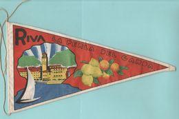 Riva Del Garda Gagliardetti Fanions Pennants  Gagliardetto Anni 60 - Autres Collections