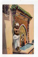 Scènes Et Types - Jeune Cariatide , Seins Nus - Algérie