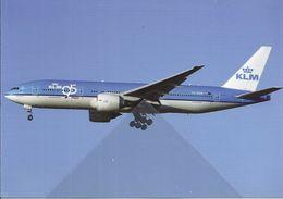 KLM 95 Years Boeing B777 PH-BQB At Amsterdam - - 1946-....: Era Moderna