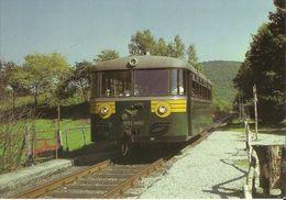 Chemin De Fer à Vapeur Des 3 Vallées - Mariembourg - Treignes - Autorail 551.662 à Olloy - Rolinvaux (2 Scans) - Viroinval