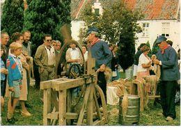 Dendermonde Begijnhof Feesten Vlasbewerking Folklore - Dendermonde
