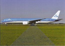 -KLM Boeing B777 PH-BVR At Amterdam - 1946-....: Era Moderna