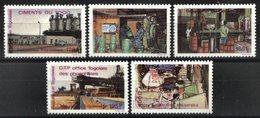 TOGO, 1988, INDUSTRIES, YV#1235D-H, MNH - Togo (1960-...)