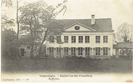 VLAMERTINGE - Kasteel Van Den Frezenberg - Uitg. Callewaert, Yper - 118 - (Verstuurd 1914 Door Frans Soldaat) - Ieper