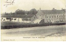 VLAMERTINGE - Huis M. Joseph Veys - Uitg. Callewaert, Yper - 131 - (Verstuurd 1914 Door Frans Soldaat) - Ieper