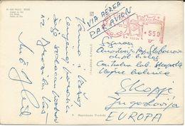 America > Brazil > São Paulo Postcard Via Macedonia - São Paulo
