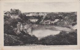 Maine  Et Loire : ANGERS :  Ardoisières :  Vue ,  Carrière - Angers