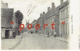 """ELVERDINGE - De Plaats """"MOLENKAART"""" - Uitg. Callewaert, Yper - 135 (Verstuurd Door Frans Soldaat 21 November 1914) - Ieper"""
