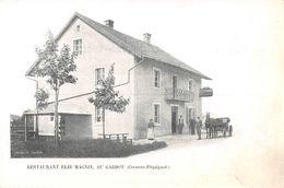 Restaurant Elie Magnin, Au Gardot (Cerneux-Péquignot) - VD Vaud