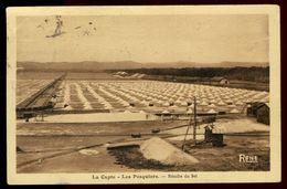 La Capte - Les Pesquiers - Récolte Du Sel - Carte Taxée - Autres Communes