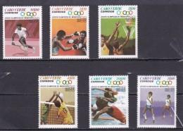 Cabo Verde Nº 414 Al 419 - Islas De Cabo Verde