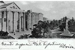 Autres Villes; Chiavari. Piazza Vittorio Emanuele, Cpa Datée De 1900. - Italie
