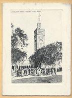 Carte De Voeux Double CASABLANCA - Mosquée En Nouvelle Médina - Casablanca