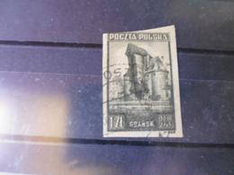 POLOGNE  TIMBRE POSTE  YVERT N°450 Non Dentele - 1944-.... República