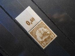 D.R.24  3Pf**/MNH  Oberrand   Deutsche Kolonien (Deutsch-Südwestafrika) 1907 - Colony: German South West Africa