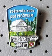 Mountain Lodge Postarska Koca Pod PLESIVCEM Cottage Alpinism Mountaineering Slovenia Pin - Alpinism, Mountaineering