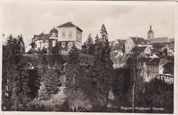 ZAGREB. KRALJEVSKI DVORAC. CROATIA, CIRCULEE TO PARIS CIRCA 1910's.- BLEUP - Kroatië