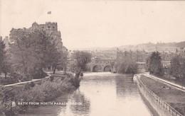 BATH  -FROM NORTH PARADE BRIDGE - Bath